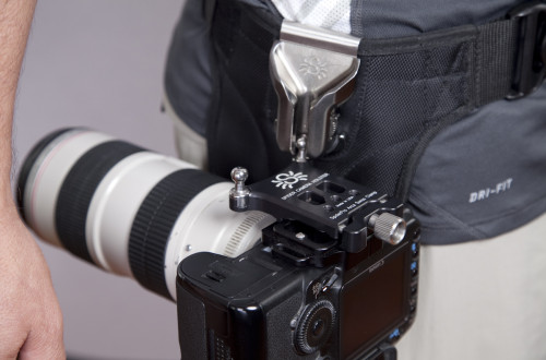 Proper camera position with an ArcaSwiss Clamp